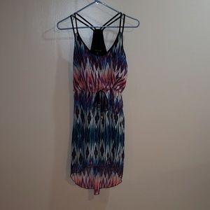 T back ,spaghetti strap sun dress